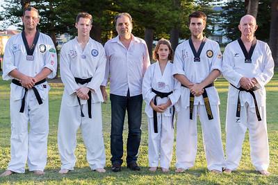 World Combat TKD with the kids